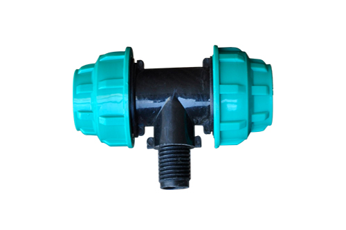 HDPE Tee Male Threaded Off Take